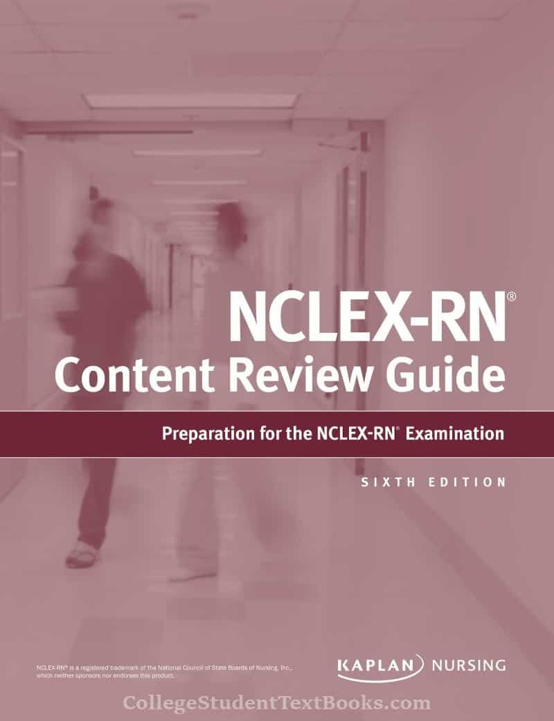 Kaplan's NCLEX-RN Content Review Guide 6th Edition - PDF