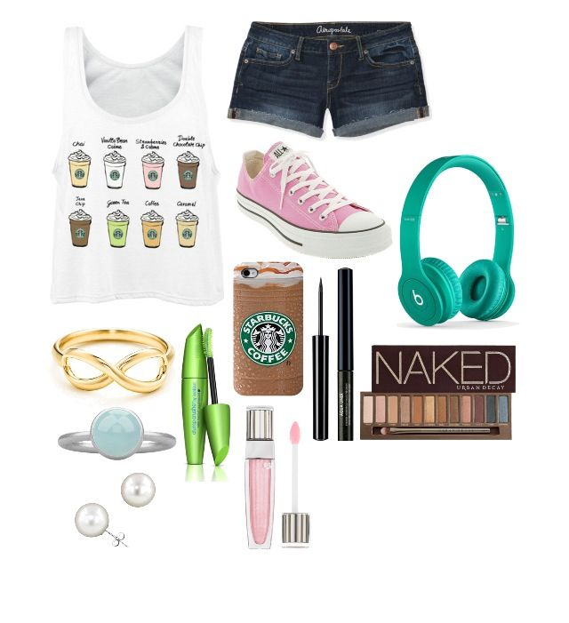 Love this Starbucks outfit! Hope you like it too!