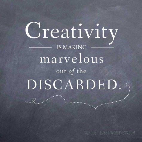 creativity is…