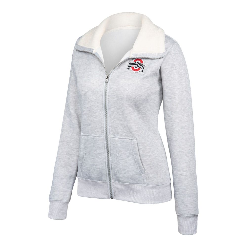 Women's Ohio State University Buckeyes Loveland Full Zip #ohiostatebuckeyes