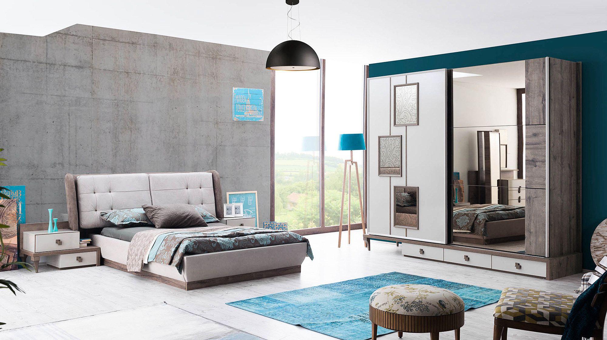 Modern yatak odalar sude yatak odas takm - Mercan Modern Yatak Odas Tak M
