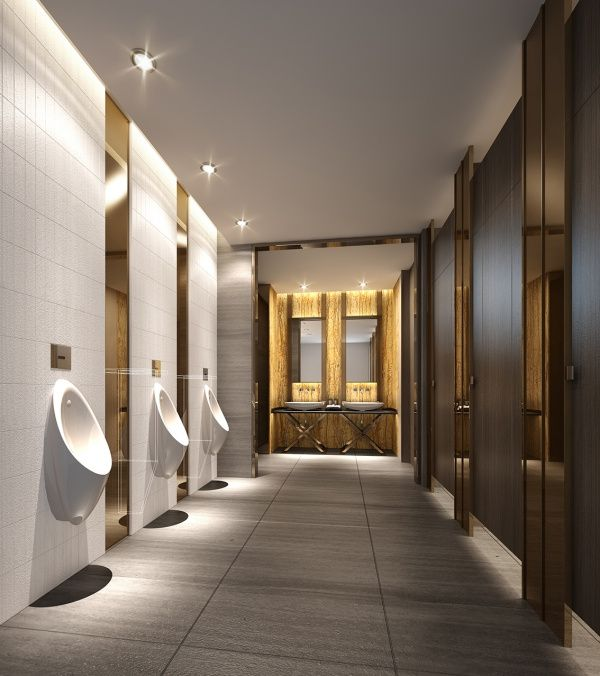 Agreeable Restroom Design Mall Public Male Toilet Interior Design