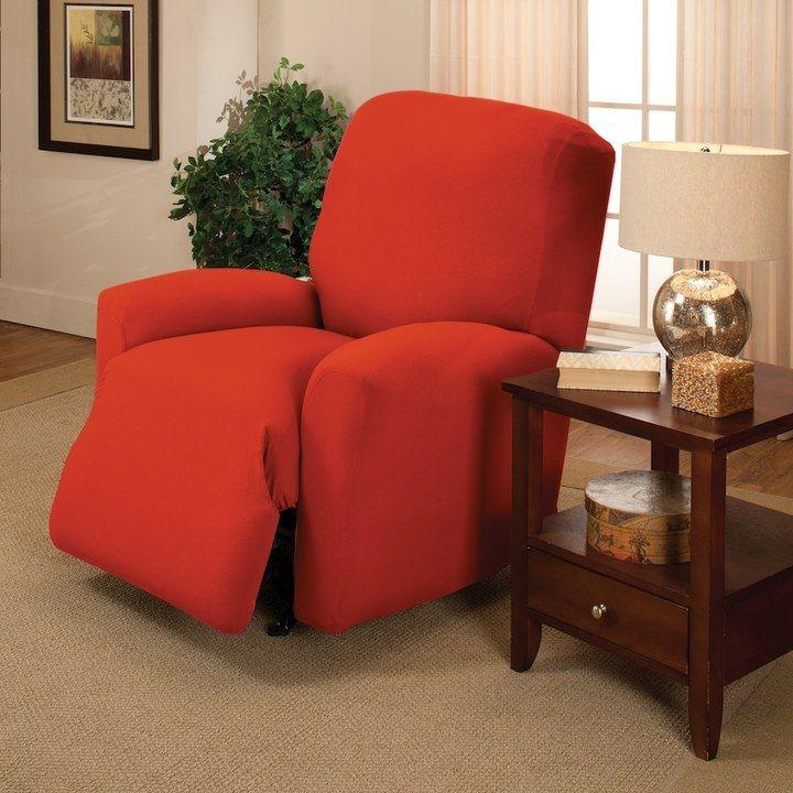 Strange Jersey Stretch Recliner Slipcover Products Recliner Creativecarmelina Interior Chair Design Creativecarmelinacom