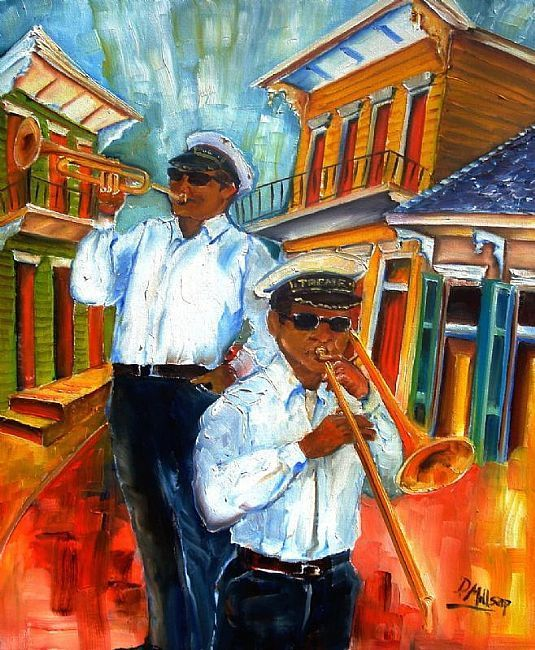 The Musicians of Treme by Artist Diane Millsap