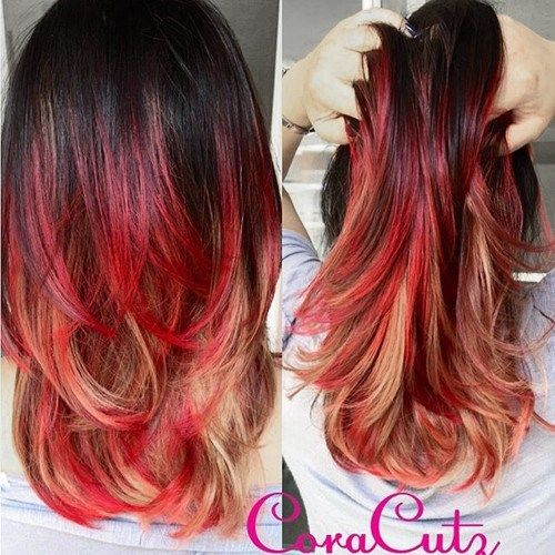 Red hair color inspiration red highlights hair coloring and red highlights pmusecretfo Image collections