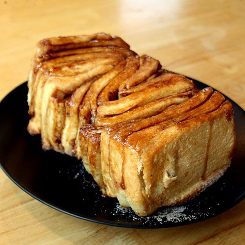 Cinnamon Loaf dessert bread. This looks so good for the cool morning with a cup of coffee, Christmas morning or when you have guest over !