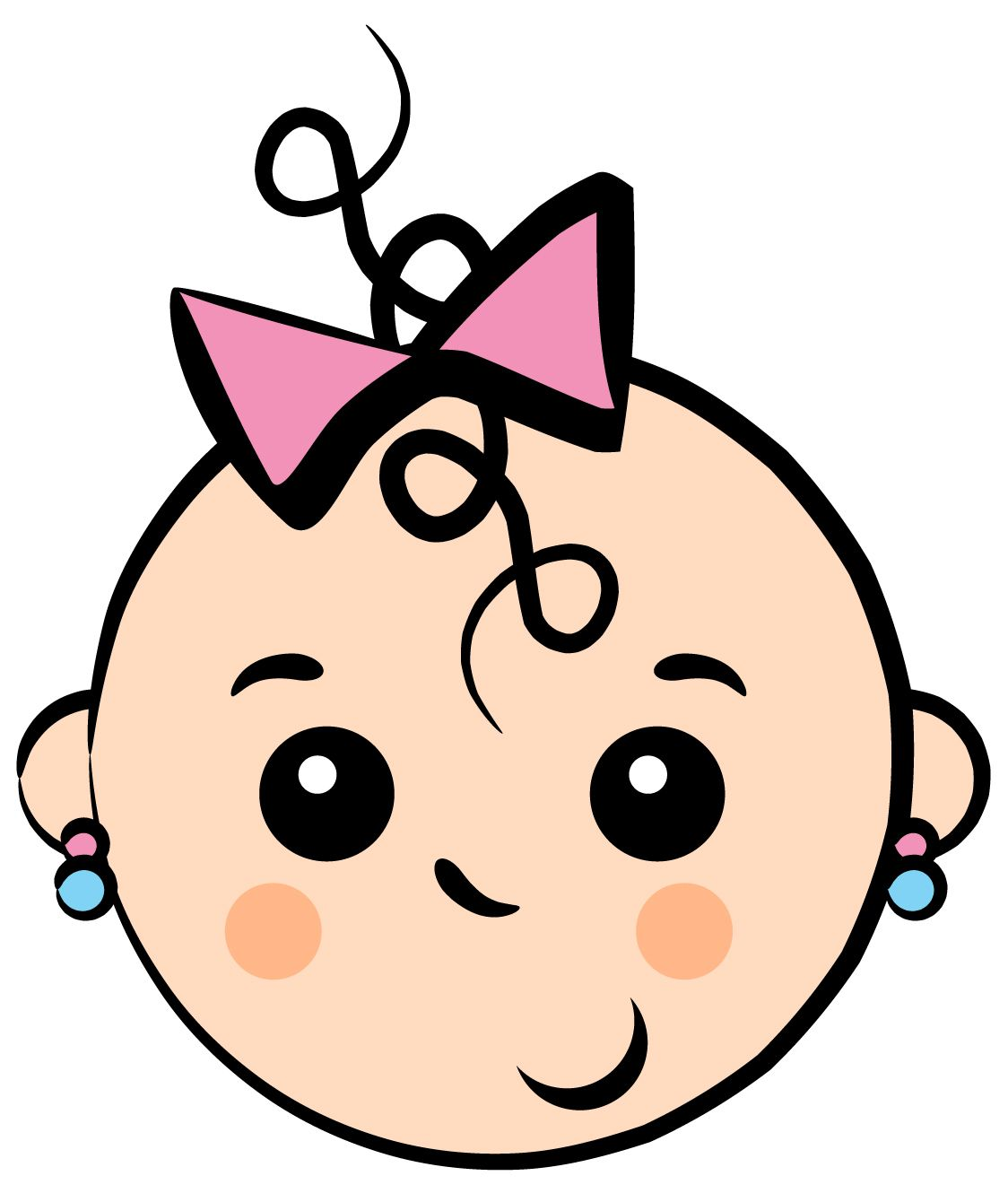Baby Girl Free Girl Baby Shower Clip Art Free Vector For Free