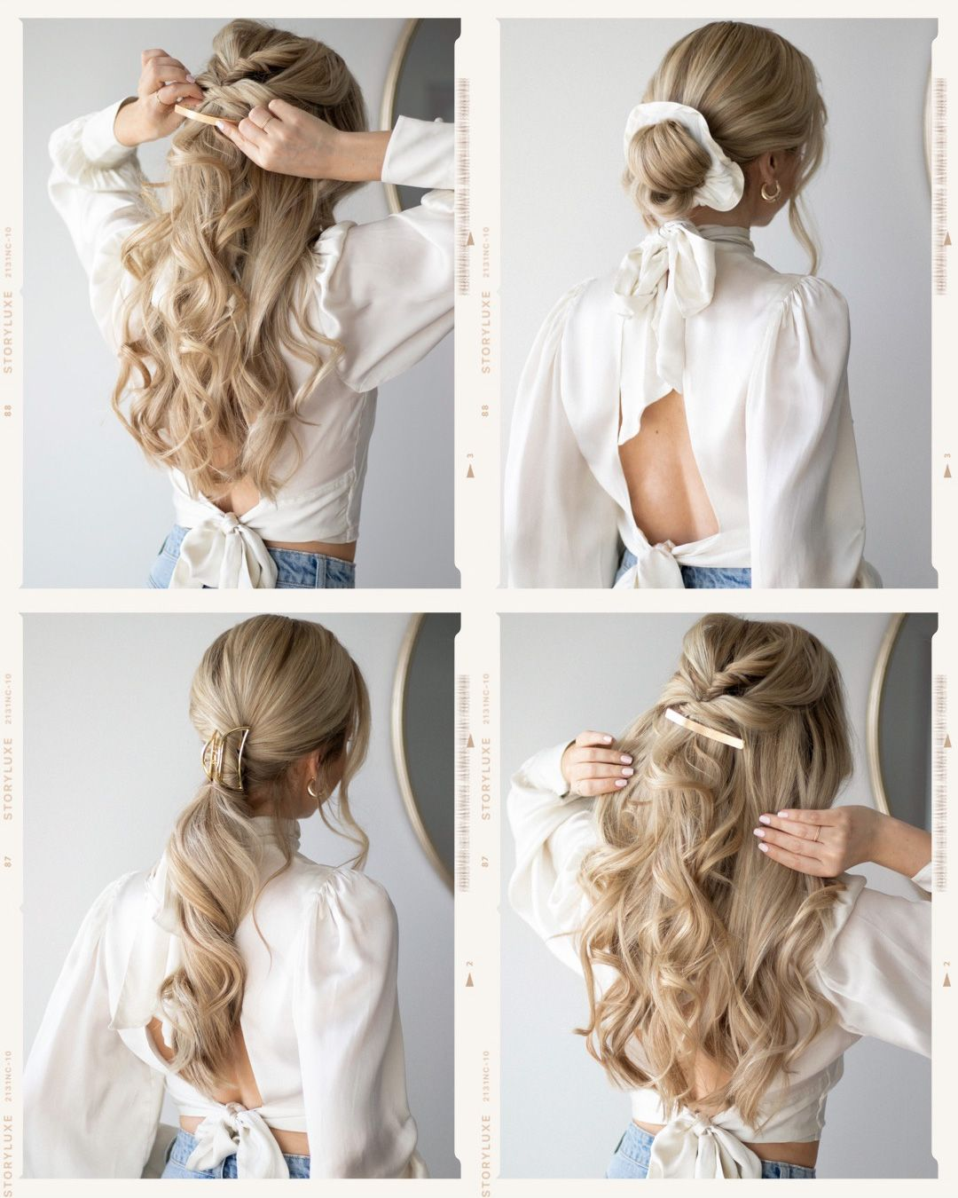 Easy Hairstyles For Winter 2020 Alex Gaboury Winter Hairstyles Hair Styles Easy Hairstyles