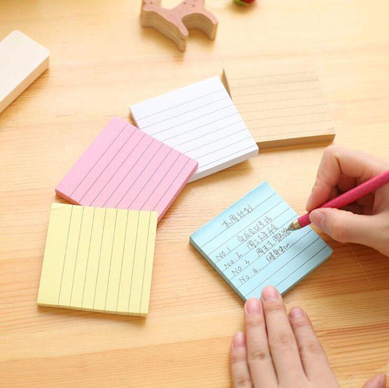 Kraft Paper Horizontal Diy Memo Pad School Supplies Notepaper Post - horizontal writing paper