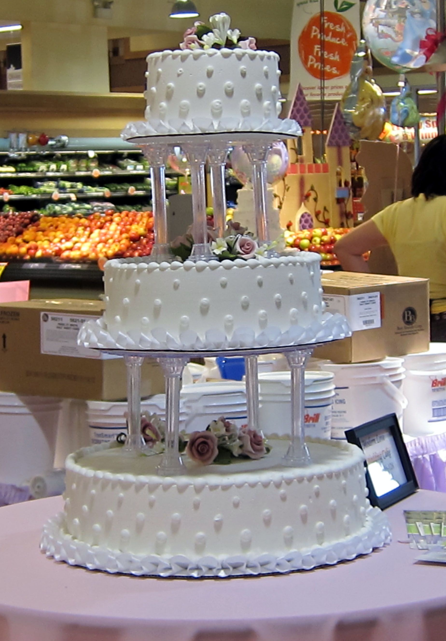 Albertsons Wedding Cake