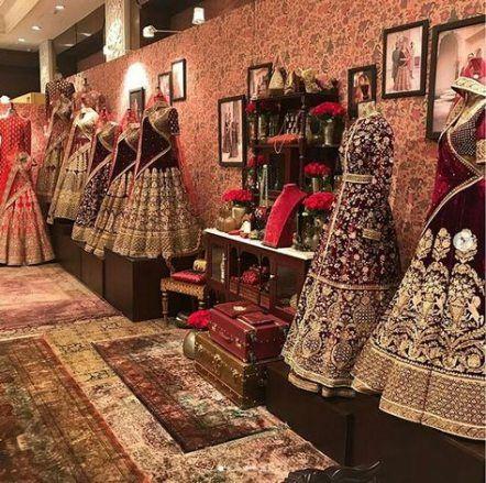 Pin By Bhavna S On Boutique Interior Bridal Boutique Interior Fashion Designer Studio Showroom Interior Design