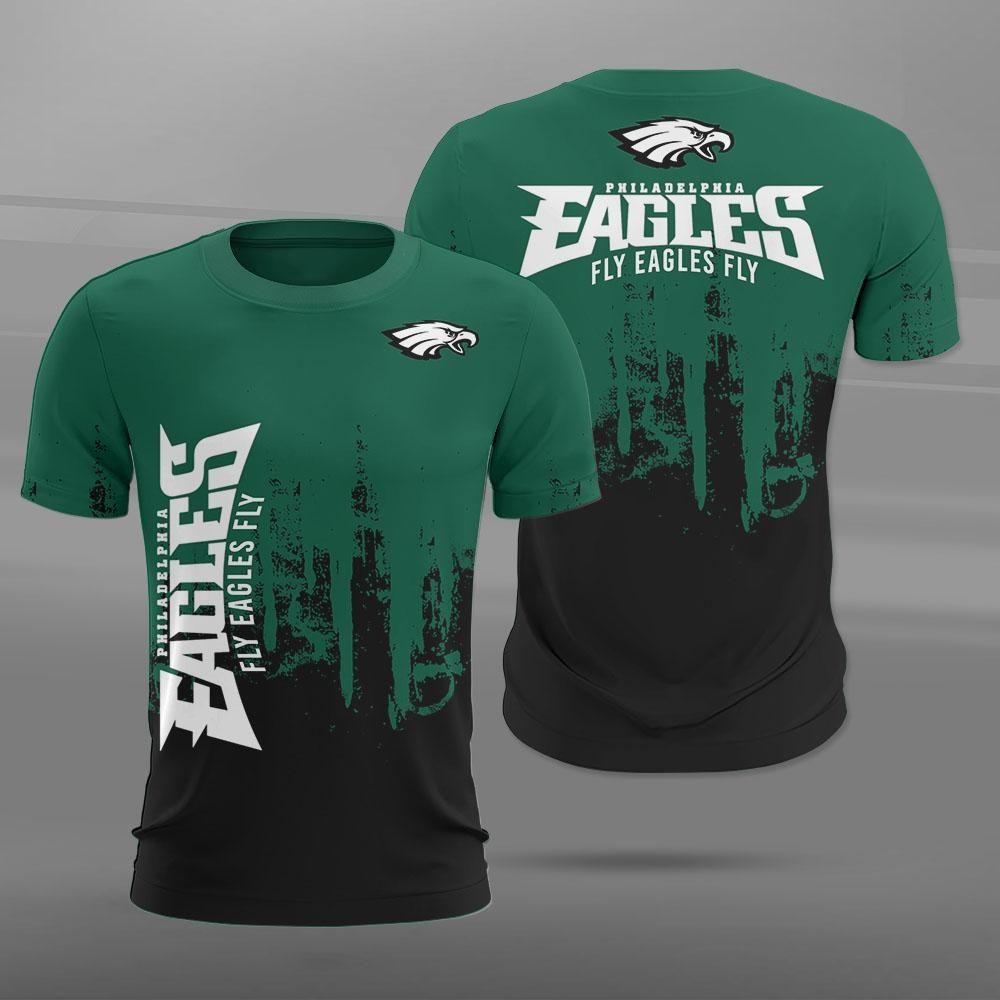 Philadelphia Eagles TShirt 3D graffiti custom best gift