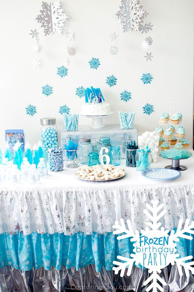 Frozen Birthday Party Party Ideas Frozen Themed Birthday Party