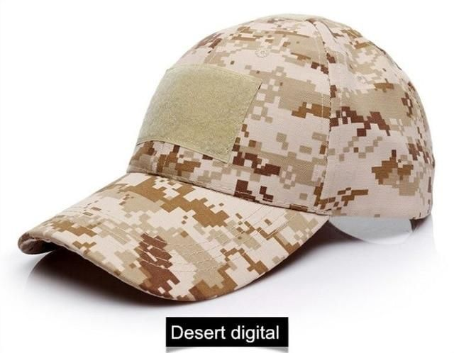 Desert digital camo hat special forces tactical operator cap with US flag