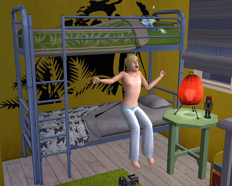 Etagenbett Sims : Minihaus wuestenplanet nowa sims