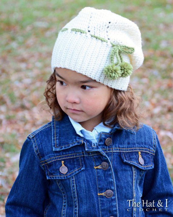 CROCHET PATTERN - It Girl Slouchy - crochet slouchy hat pattern ...