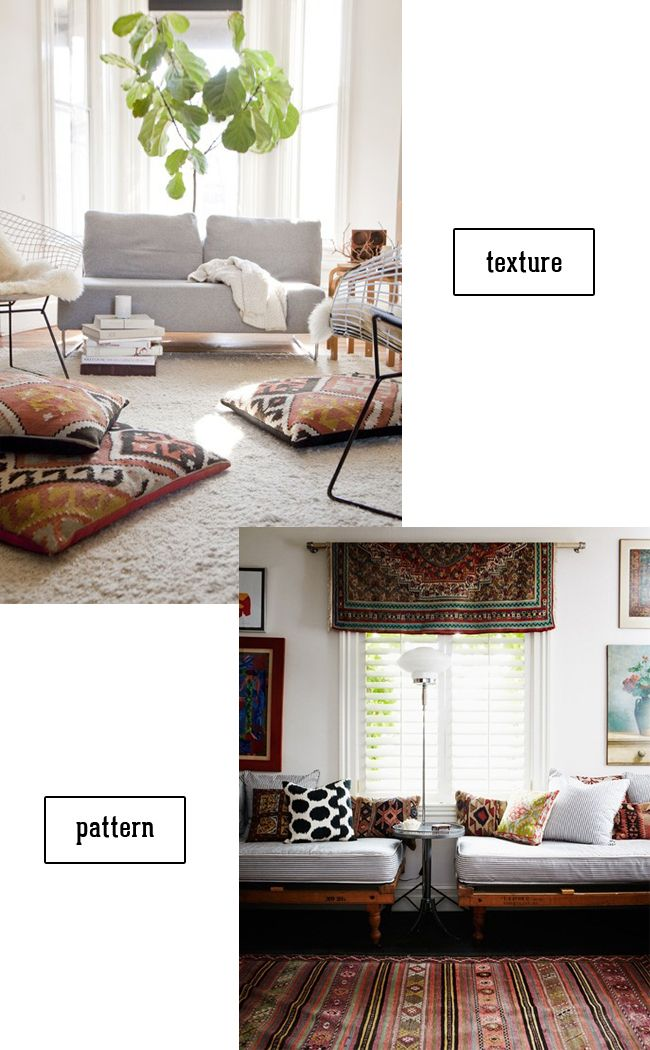 swoon studio: Inspired by: Kilim textiles