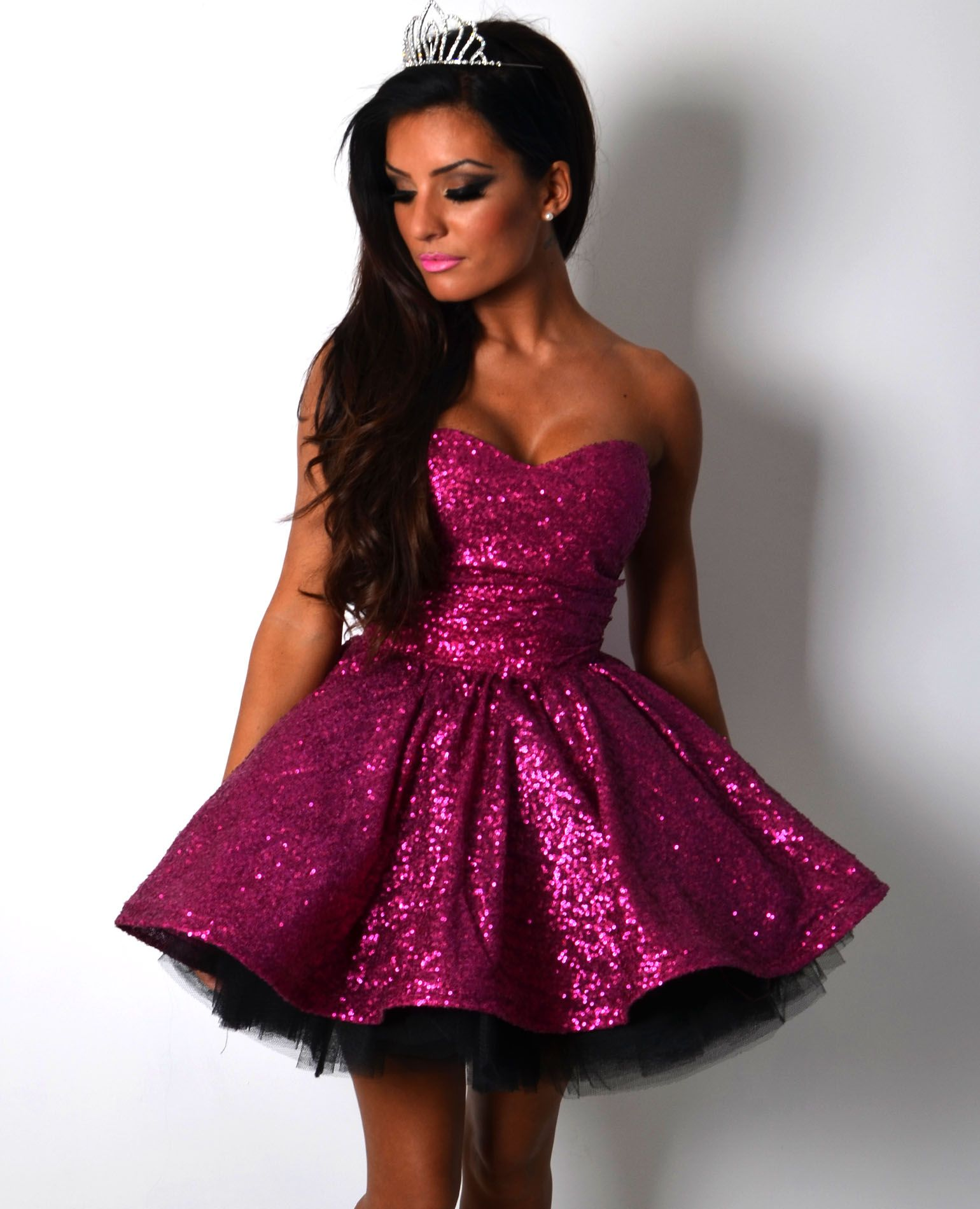 Formal pink dresses for women  Shop all styles at boutique glam princess