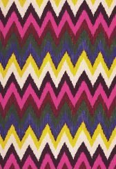 Fabric | Adras Ikat Print in Jewel | Schumacher