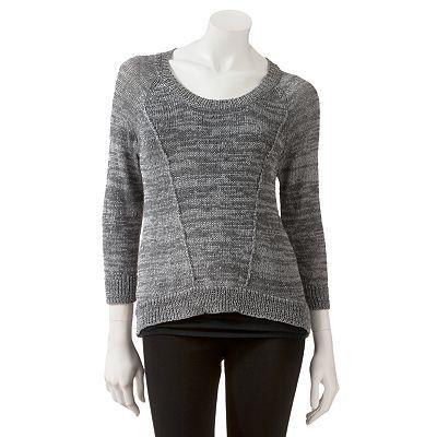 Candie's Hi-Low Sequin Sweater - Juniors'