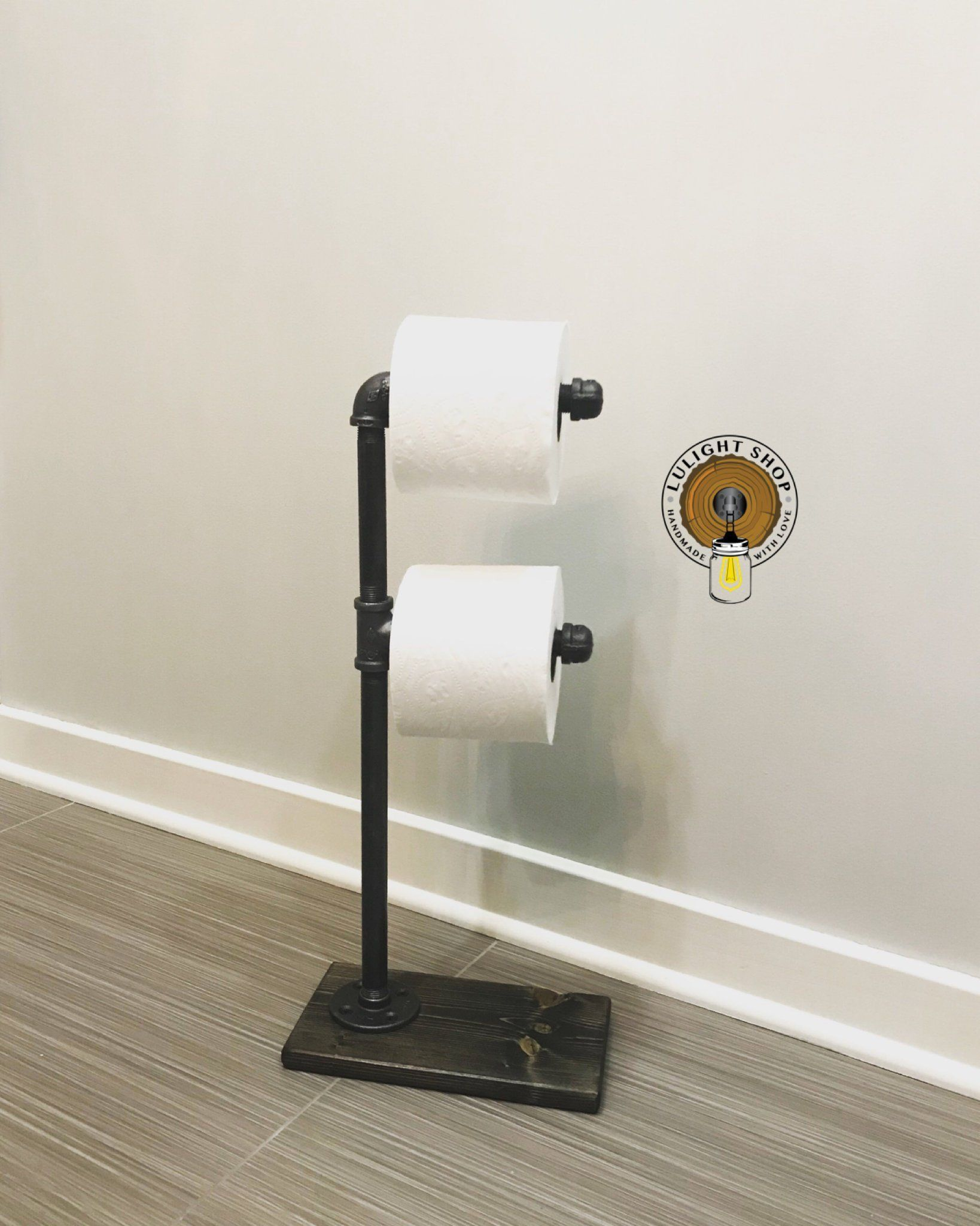 Rustic Toilet Paper Storage