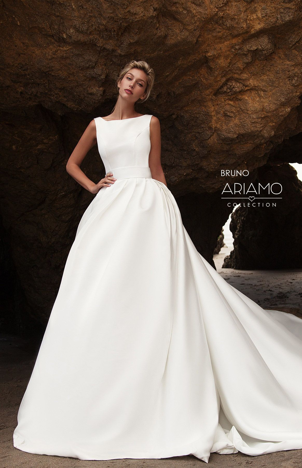 24e76a3d7f76 Bruno collection Aria of Love by Ariamo   .Wedding in 2019   Wedding ...