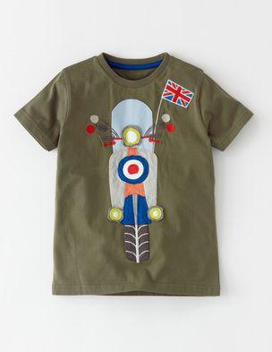 cdac1ba89 Vehicle Appliqué T-shirt | Fashion kids | Kids outfits, Boys t ...