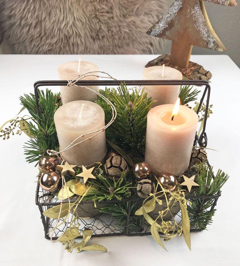 Adventskranz Mal Ganz Anders Deko Weihnachten Adventskranz Adventskranz Adventkranz