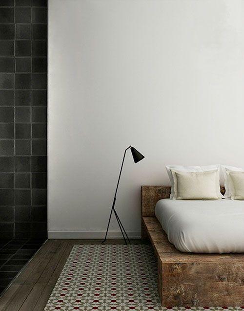 slaapkamer inrichten met steigerhouten bedden slaapkmr