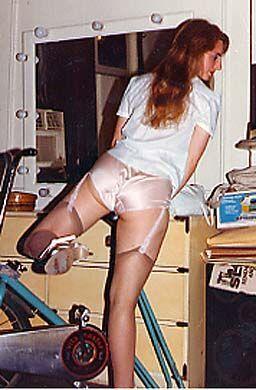 panties belt stockings garter Upskirt