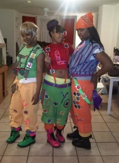 Tlc Costume Party Pinterest Tlc Costume 90s Halloween