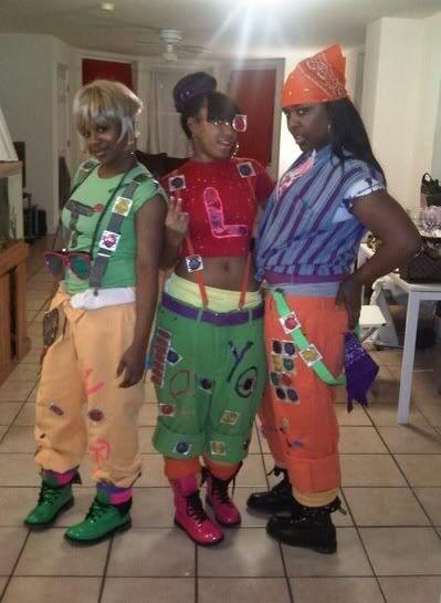 Salt N Pepa Halloween Costumes