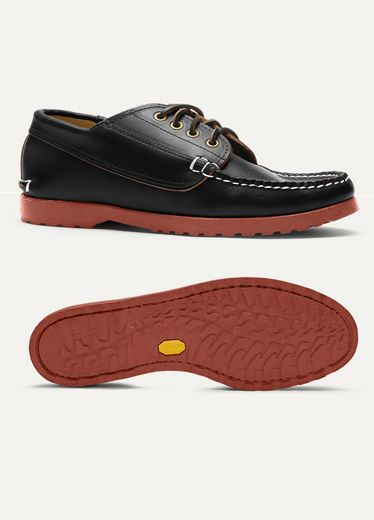 f5b900376a1 True Penny Loafer in Horween® Cavalier Windsor Wine with hand-built siped  leather sole