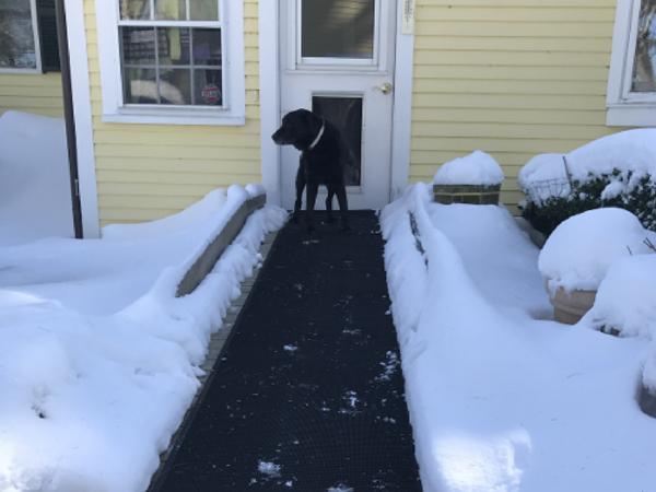 Best Heated Outdoor Snow Melting Mat An Outdoor Heated Walkway 400 x 300