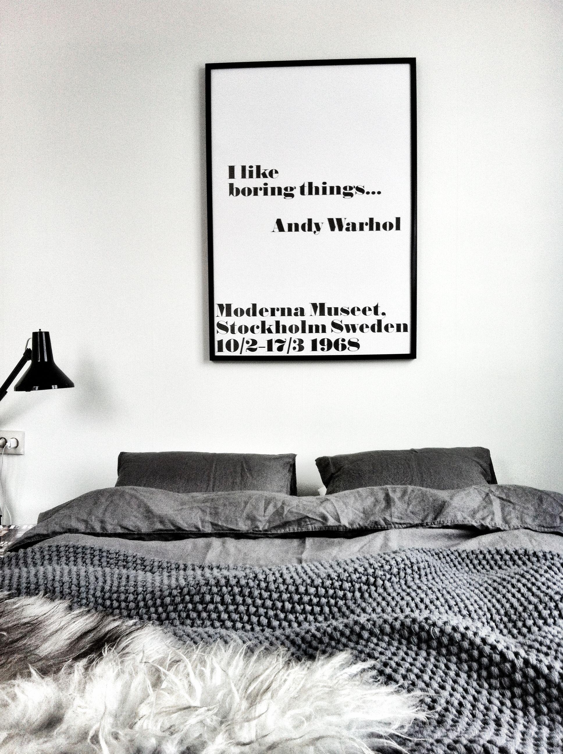 DESIGN ICON⎬WARHOL POSTERS - Slaapkamer, Vijftig tinten en Muur
