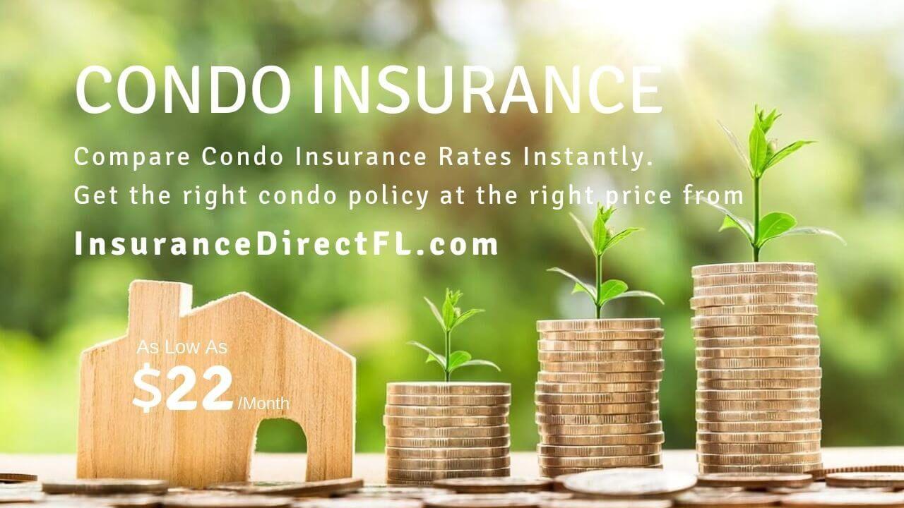Get the Cheapest Condo Insurance Quote in Florida. Compare