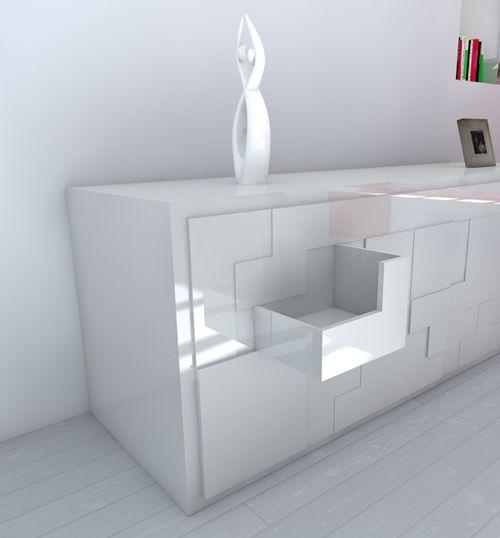 Tetris, T@tris, Pedro Machado, Sideboard, Tisch, Stühle, Lissabon Images