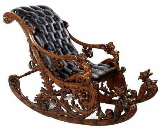 Sehr Italian Rocking Chair, 1885 | Chairs that are different  GY31