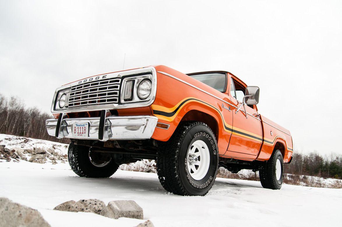 1978 Dodge W100 Power Wagon Power wagon, Old dodge