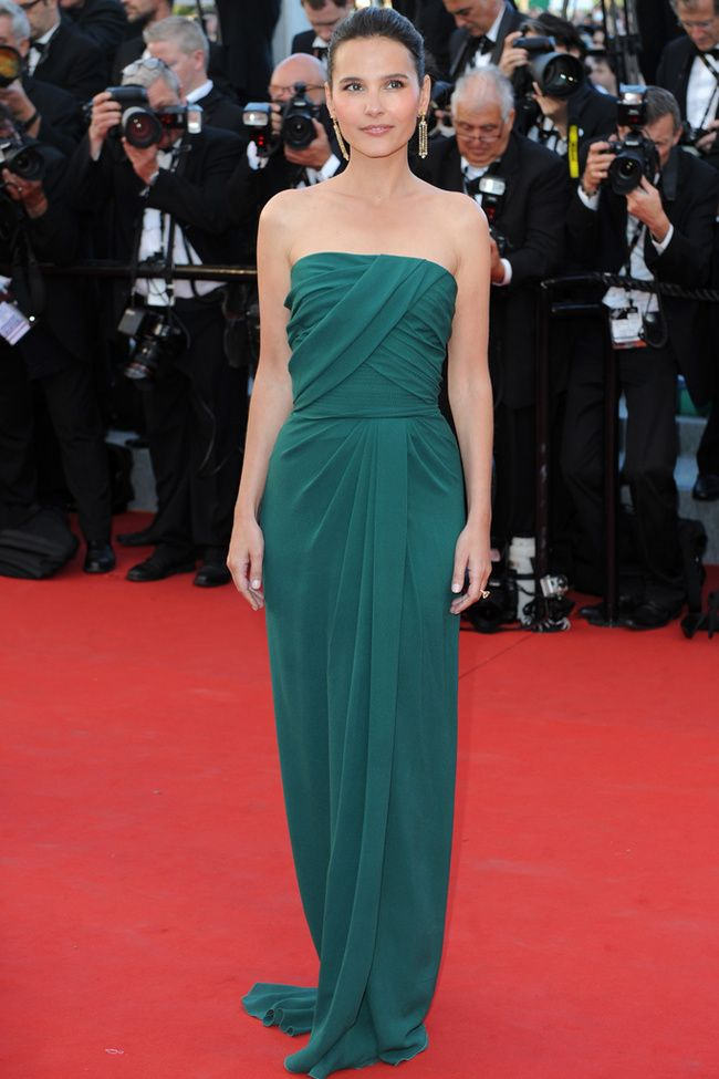 Virginie Ledoye in Elie Saab #Cannes2012 #HauteCouture #RedCarpet