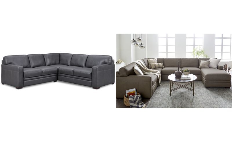 Swell Avenell 2 Pc Leather L Shaped Sectional Sofa Created For Pdpeps Interior Chair Design Pdpepsorg
