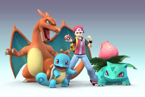 Pokemon Red-Smash bros