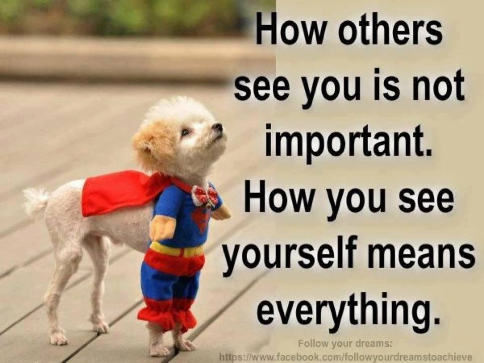 Motivational Quotes - How You See Yourself is Important | quotes ...