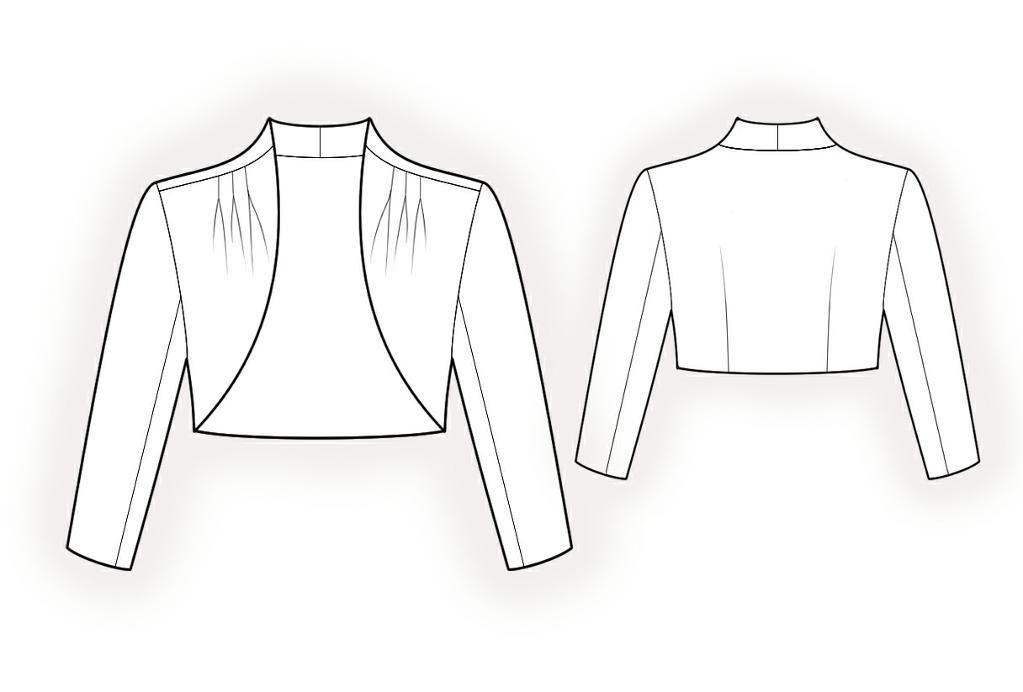 Bolero: Your Size Sewing Pattern 4159 | Bolero | Pinterest ...