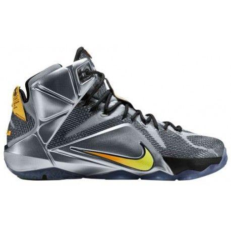 750207e28157 Nike LeBron 12 - Men s - Basketball - Shoes - LeBron James - Wolf ...