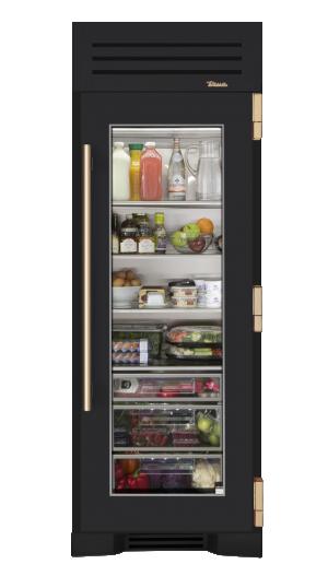 I Designed A Custom 30 Quot Glass Door Refrigerator Column On