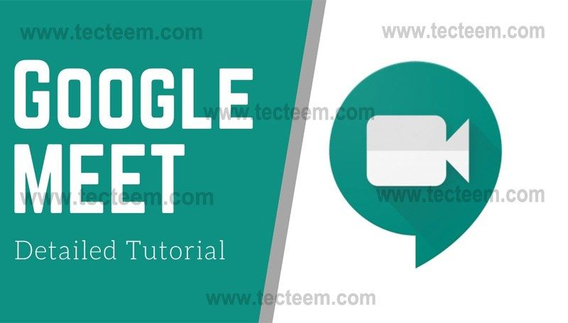 Google Meet App The Google Meet App Is One Of The Best Apps For Smooth Communication Tecteem In 2020 Video Conferencing Online Teaching Google Classroom
