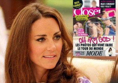 Kate and William to sue over topless photos.
