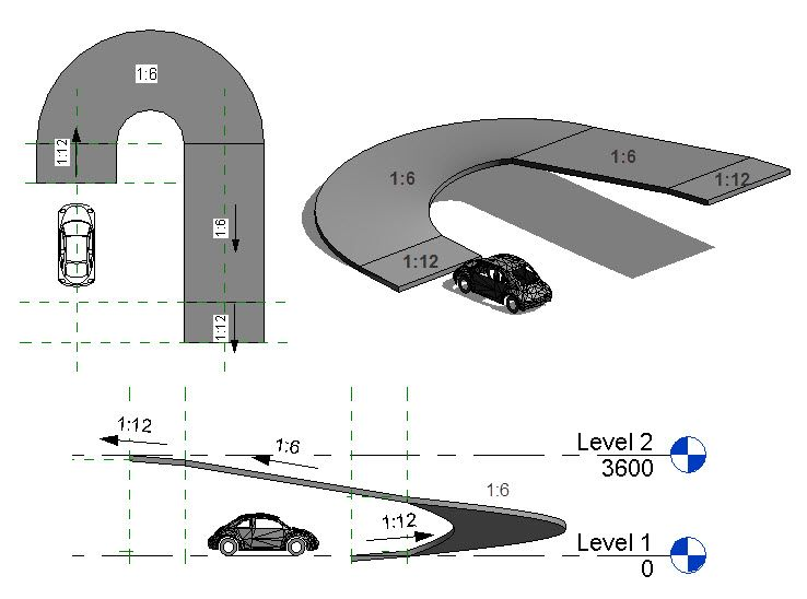 Curved Ramps Parking Design Car Park Design Ramps Architecture