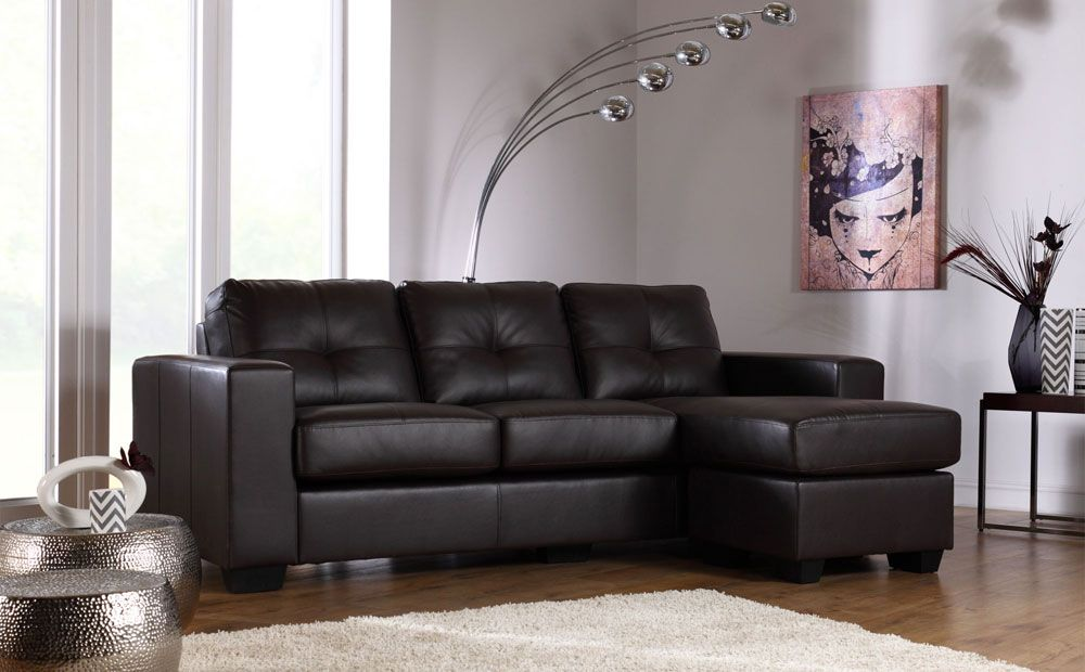 Rio Brown Leather Corner Sofa At Furniture Choice 399 99 Leather Corner Sofa Settee Living Room Best Leather Sofa